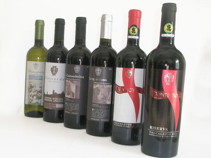migliori vini prodotti